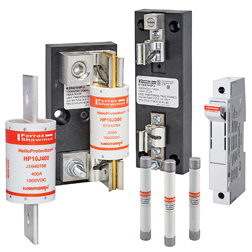 PV Fuses and Fuse Holders