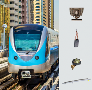 Power Transfer for Rail Vehicles - Solution Brochure (Train, Tram, Metro)